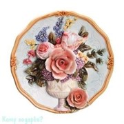Тарелка настенная декоративная, d=20 см 003