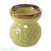 Аромалампа «Лиана», керамика, 7х8 см, салатовый