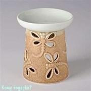 Аромалампа «Стрекозы», керамика, 9х10 см