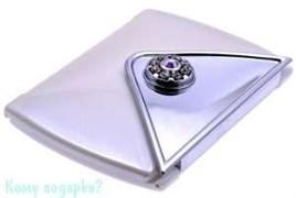 Зеркало компактное с кристаллами «WPearl», 3-кратное увеличение