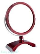 Зеркало настольное «Red», двухстороннее, 18 см.