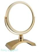 Настольное зеркало «Gold», двухстороннее, 18 см.