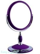 Зеркало настольное, 002, двухстороннее, 15 см.