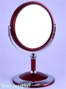 Настольное двухстороннее зеркало«Red», 15 см.