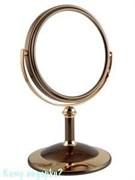 Настольное зеркало «Bronze&Gold», двухстороннее, 15 см.