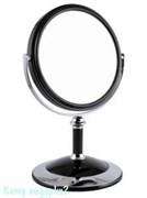 Зеркало настольное «Black»,  двухстороннее, 15 см.