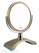 Зеркало настольное «Gold&Silver», двухстороннее, 15 см.