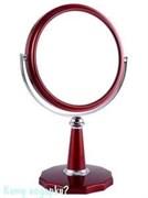 Настольное зеркало «Red», двухстороннее, 15 см.