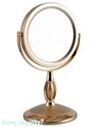 Зеркало настольное «Gold», двухстороннее, 12,5 см