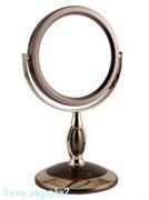 Зеркало настольное «Bronze&Gold», двухстороннее, 12,5 см