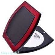 Зеркало компактное «Black&Red», 3-кратное увеличение