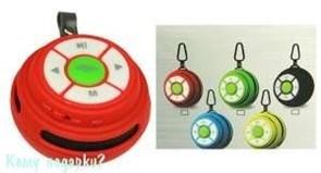 Портативная беспроводная колонка Bluetooth, micro USB/SD, AUX, FM, мощн. 3 Вт, карабин