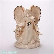 Фарфоровая статуэтка «Ангел», h=24 см