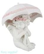 Фигурка «Ангел с зонтиком», коллекция «amore», h=19 см