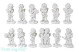 Комплект фигурок из 12 шт. «Знаки зодиака»,  коллекция «amore», 3x1x6 см