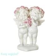 Фигурка «Девочки-ангелочки с букетиком», коллекция «amore», 8x4x13 см