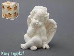 Фигурка «Ангелочек», коллекция «amore», h=11 см