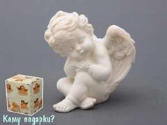 Фигурка «Уснувший ангелочек», коллекция «amore», h=10 см