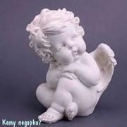 Фигурка «Сидящий ангелочек», коллекция «amore», l=18 см
