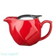 Заварочный чайник, 500 мл, красный