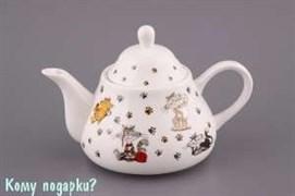 """Чайник заварочный """"Веселые коты"""", 350 мл"""