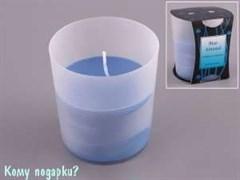 Свеча ароматизированная «Голубой миндаль», h=9 см, d=8 см
