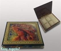 Шкатулка для ювелирных изделий «Девочка в шляпке», 24x19x6 см