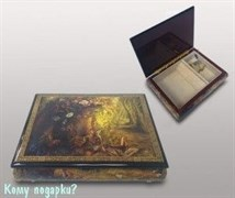 """Шкатулка для ювелирных изделий """"Лесная сказка"""", 21x16x6 см"""