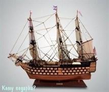 Парусник «HMS Victory Painted», l=85 см