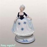 Статуэтка музыкальная «Девушка», h=16 см