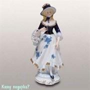Статуэтка декоративная «Девушка с корзинкой», h=35 см