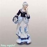 Статуэтка декоративная «Дама с корзинкой», h=33 см