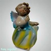 Статуэтка «Девочка-ангелочек»,  h=9,5 см