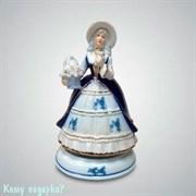 Статуэтка музыкальная «Дама с корзинкой», h=20 см