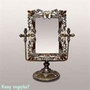 Зеркало настольное, 23x19x5 см
