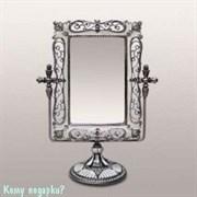 Зеркало настольное, 25x19x9 см, LJ-275-4B