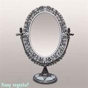 Зеркало настольное, 28x21x9 см