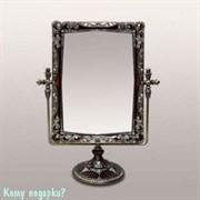 Зеркало настольное, 27x21x9 см