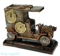 Часы-термометр «Автомобиль» настольные, 26x20x10 см