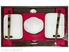 Подарочный набор для суши на 2 персоны, белый