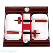 Набор для суши на 2 персоны, белый, 40338