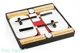 Набор для суши на 2 персоны в подарочной упаковке, белый