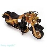 Модель мотоцикла, l=24 см, светло-коричневый