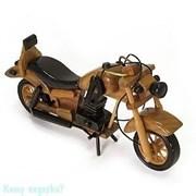 Модель мотоцикла, l=25 см, светло-коричневый
