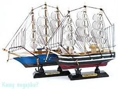 Модель парусника, 16х17 см, 2 вида