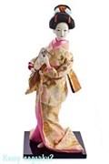 Кукла декоративная «Гейша с опахалом», h=30 см