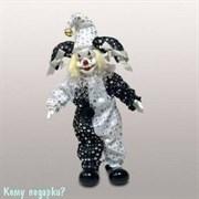 Фигурка «Клоун», h=29 см, черно-белый
