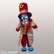Фигурка «Клоун», h=30 см, красный