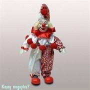 Фигурка «Клоун», h=29 см, красно-белый