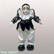 Фигурка «Клоун», h=27 см, черно-белый